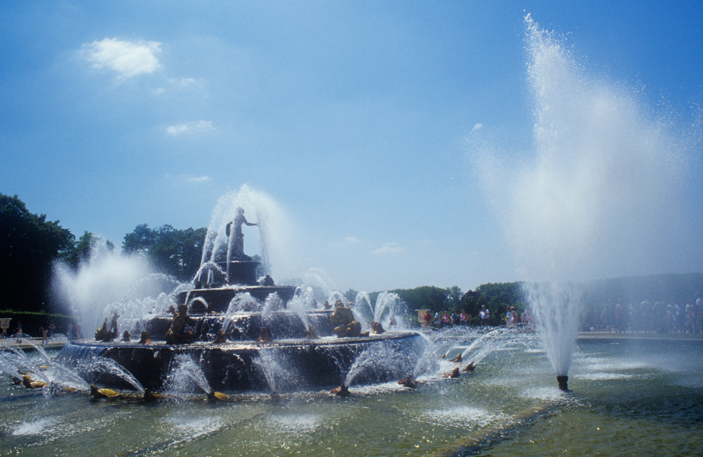 Fountains at Versailles