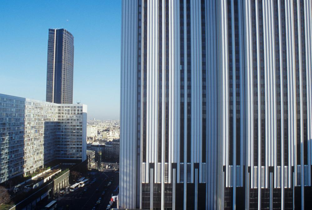 Tour Montparnasse and Hotel Meridien