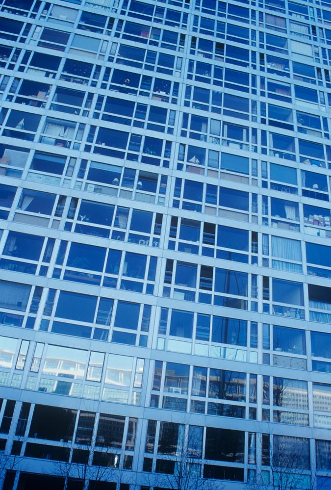High rise living with model boat, Montparnasse