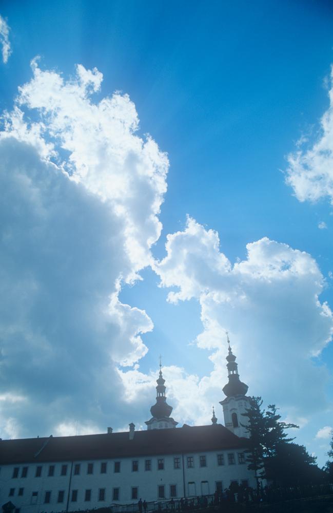 Sky above Strahov Monastery, Prague