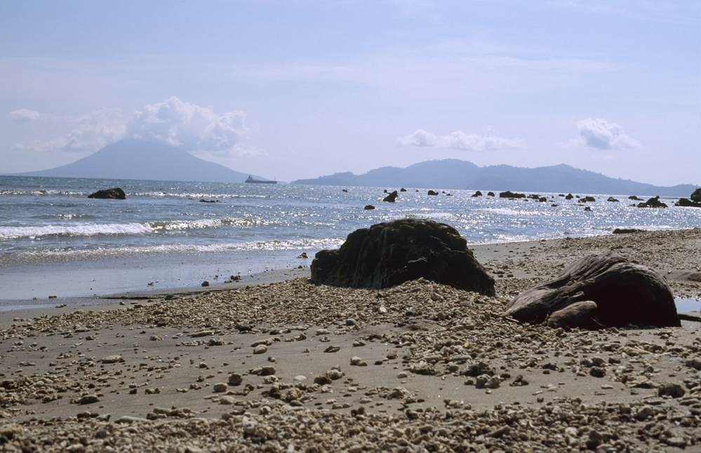 View towards Krakatau from Kaliande Sumatra