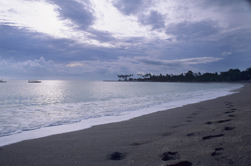 Beach at Senggigi, Lombok Indonesia