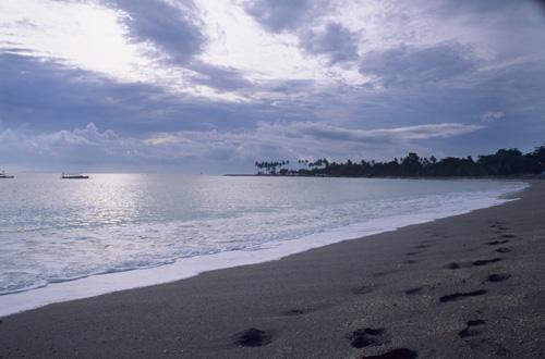 Beach at Senggigi, Lombok Indonesia