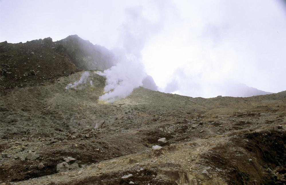 Sibayak Volcano. Near Berastagi. Sumatra