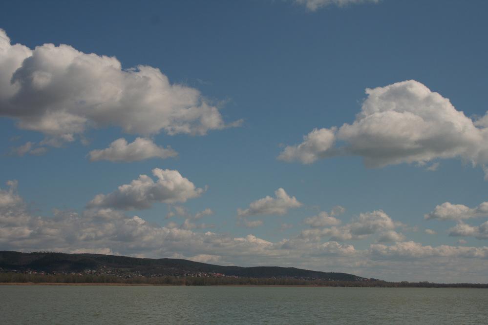 Lake Balaton at Keszthely, Hungary