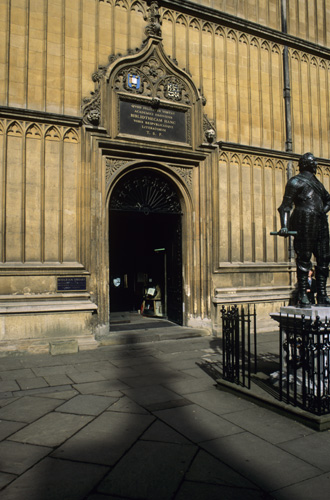 Bodleian Library, Oxford UK