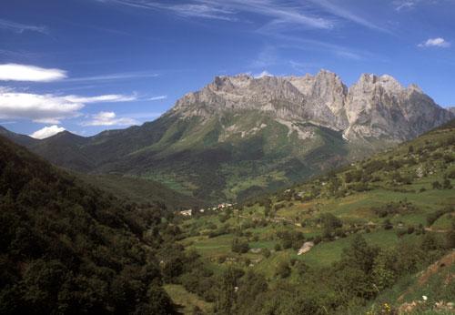 Picos de Europa Northern Spain near Posada del Valdeon