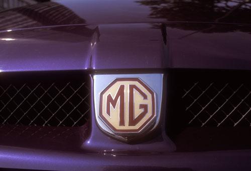 MG car London UK