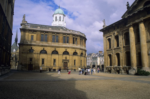 Sheldonian Theatre, Oxford UK