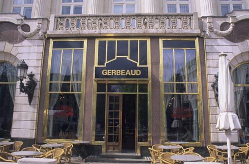 Gerbeaud Coffee House, Budapest Hungary