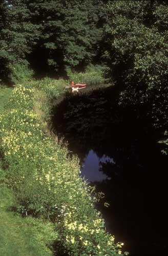 Lancaster Canal Lancashire UK