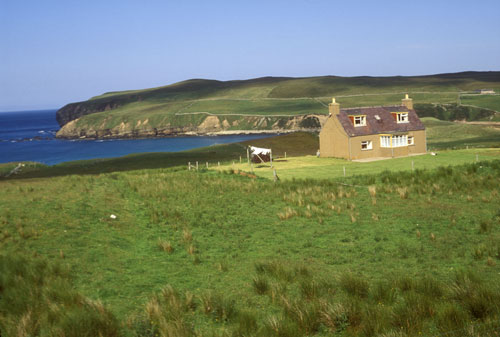 Near Strathy Point north Scotland coast
