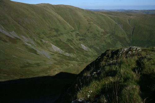 The summit of Gwaun y Llwyni, Aran Mountains