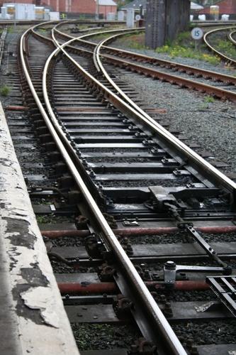 Train tracks, Shrewsbury