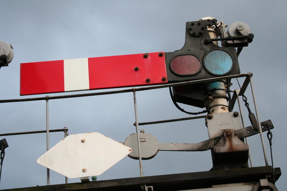 Train signals, Shrewsbury