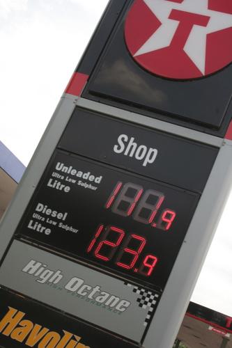 Petrol station, Cumbria