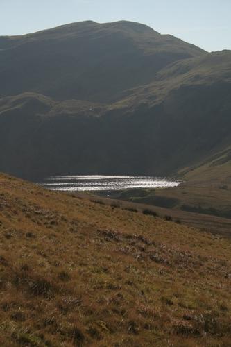 Pumlumon Fawr from the north, Pumlumon Mountains