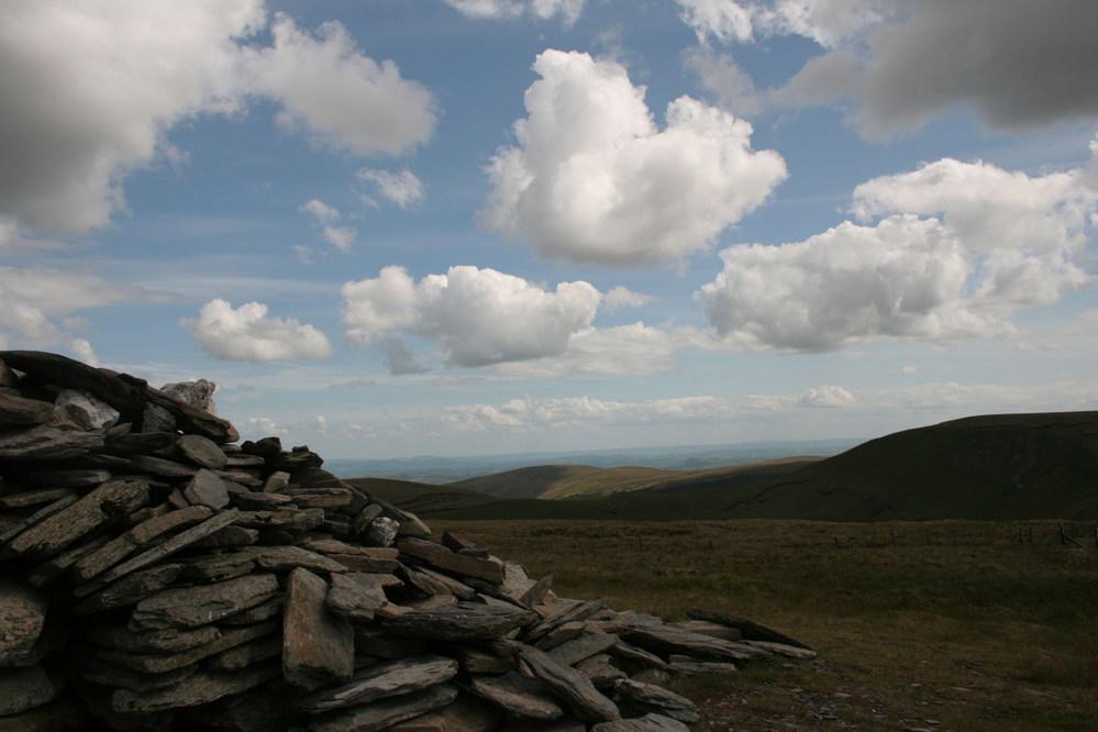 Summit of Cadair Bronwen, Berwyn Mountains