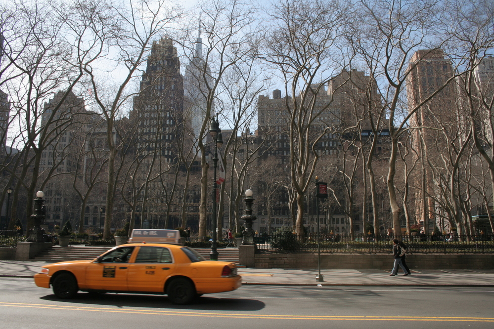Bryant Park, 42nd Street, New York City