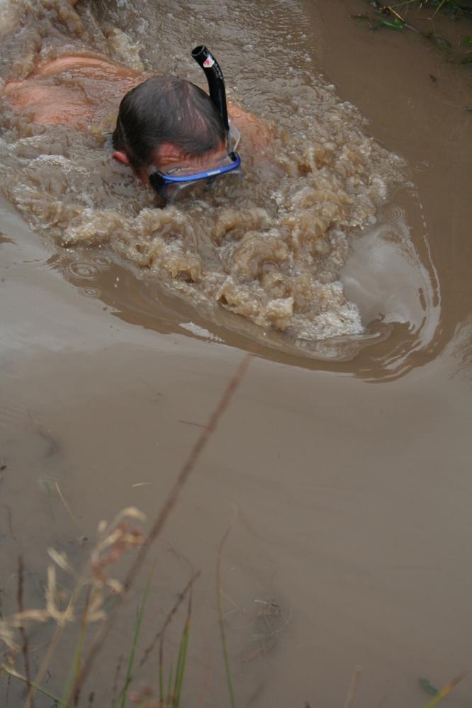Bog snorkling at Llanwrtyd Wells