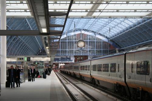 Eurostar terminal, St Pancras London