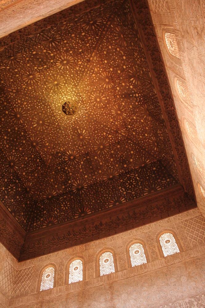 Alhambra, Granada Spain Salón de Embajadores