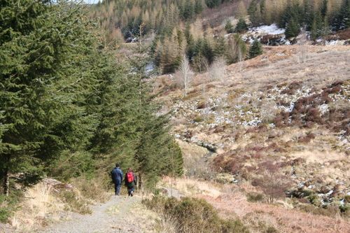 Walkers on the Wye Valley Walk