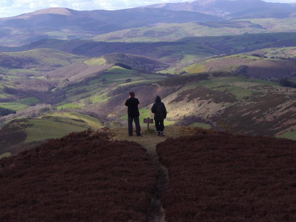 Viewpoint at Glas Lyn