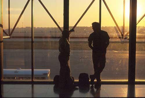 Lisbon airport Portugal